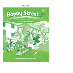 Happy street 2 Radna sveska the english book