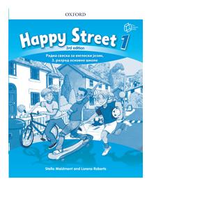 engleski jezik radna sveska happy street 1 za 3 razred english book