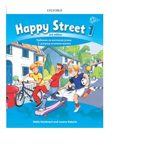 engleski jezik udzbenik happy street 1 za 3 razred english book