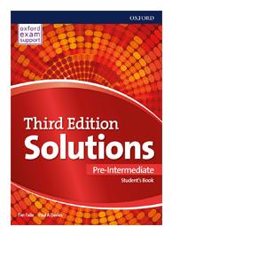 solutions pre intermediate udzbenik 1 razred logos