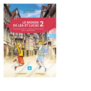 Le monde de Lea et Lucas 2 udzbenik zavod