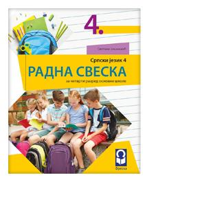 radna sveska srpski jezik 4 razred freska
