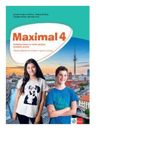 maximal 4 radna sveska nemacki jezik klett